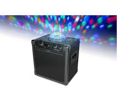 ion portable speaker system with party lights buy ion party rocker plus portable bluetooth wireless speaker