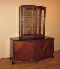 clement rousseau attributed modern display cabinet modernism