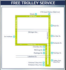 navy pier map free chicago trolleys chicago on the cheap