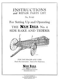 new idea no 4 side rake and tedder u2013 small farmer u0027s journal