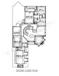 vanallen narrow house plans texas floor plans