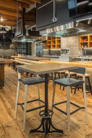 Reclaimed Wood Bistro Table Custom Bistro Table Table Base Cafe Table Reclaimed Wood