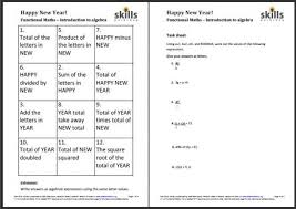 introduction to algebra worksheets free worksheets library