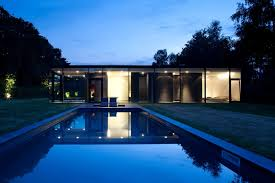 home design story pool house faes by hvh architecten architecture
