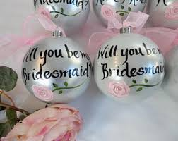 bridesmaid ornaments will you be my bridesmaid ornaments