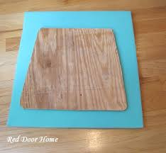 red door home how to cover a dining room chair
