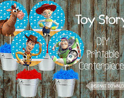 toy story party printable invitation with photo