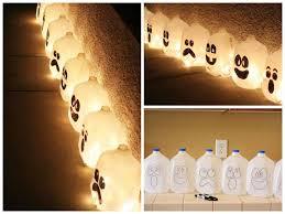 jack o u0027 lantern from recycled milk jugs u2022 recyclart