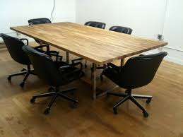 Metal Conference Table A 441 Oak Steel Conference Table Fixed Future