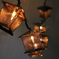 battery powered house lights 20led fairy vintage house lanterns battery operated string light 3m