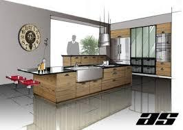 dessiner en perspective une cuisine archisketching site de dessin d architecture interieur et design