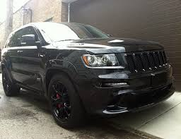 jeep srt8 grill 2012 jeep grand srt8 blacked out mr kustom auto