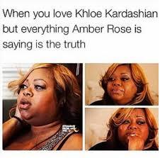 Khloe Kardashian Memes - amber rose vs khloe kardashian the best memes from the epic