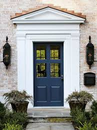 make a dramatic first impression 15 painted front doors white