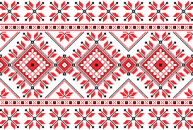ukrainian ornaments ukraine style fabric ornaments vector graphics 11 vector pattern
