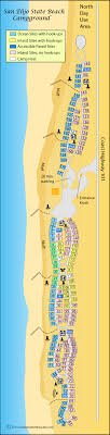 california map carlsbad encinitas beaches area cing california s best beaches