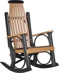 Recycled Plastic Rocking Chairs Luxcraft S Poly Rocker From Dutchcrafters Amish Furniture