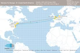 East Coast Map America by Cma Cgm Takes Slots On Msc U0027s North Europe U2013 East Coast North
