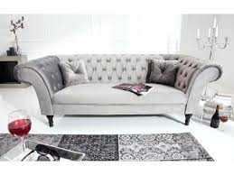 canap chesterfield gris canape chesterfield gris canapac chesterfield 3 places velours gris