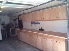 Build Wood Garage Shelves by Garage Cabinets Plans Solutions Garage Pinterest Garage