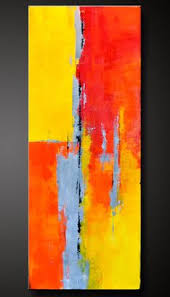 abstract painting demo how to paint abstract in acrylics