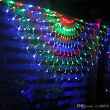 cheap creative curtain decoration lights wedding background
