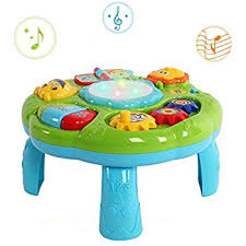 amazon com musical learning table baby toy electronic education