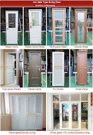 usd 35 per square interior fireproof pvc glass kitchen door