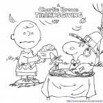charlie brown snoopy christmas coloring free pages
