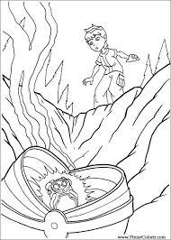 drawings paint u0026 colour ben 10 print design 070