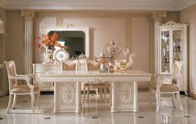 gorgeous italian dining table sets white modern italian dining