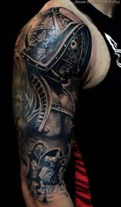 25 beautiful armor sleeve tattoo ideas on pinterest tattoed