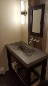Peter Evans Sink by Hand Made Concrete U0027topographic U0027 Sink By Concrete Pete