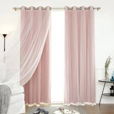 Petal Pink Curtains Petal Pink Curtains Howtolarawith Me