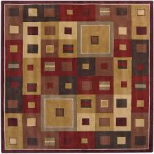 Area Rug Square Vs Square Area Rugs Contemporary We Bring Ideas Pertaining