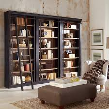 6 Bookcase Toulouse Aged Ebony 6 Shelf Home Library 3 Bookcase Wall 9x924