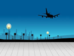 airplane free ppt backgrounds
