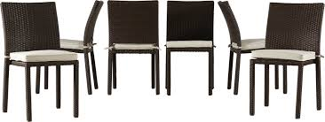 Patio Dining Sets 7 Piece - beachcrest home elsmere 7 piece outdoor dining set with cushions