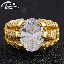 popular cheap gold rings for men buy cheap cheap gold 2017 new ip gold plated men jewelry luxury aaa zirconia men s ring