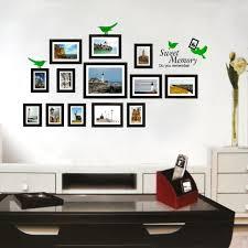 photo frame wall stickers wall art ideas photo frame wall stickers