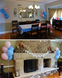 gender reveal party decorations gender reveal party pretty neat living