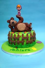 masha bear cake alessandra masha el oso