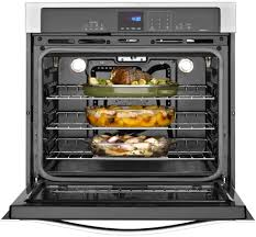 Oven Toaster Uses Whirlpool Wos92ec0as 30 Inch Single Electric Wall Oven With True