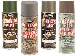 12 oz military digital camo spray paint colors available olive