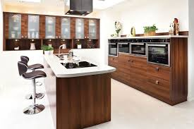 Kitchen Islands With Sink by Blue Stained Wall And Vase Flowe Kitchens Island Sinks Seating