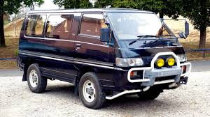 mitsubishi van 1988 1991 mitsubishi delica turbo diesel 4wd usa import japan auction