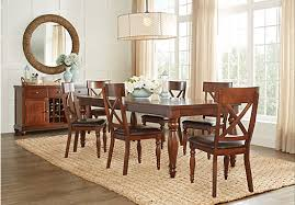 Rooms To Go Dining Table Sets by Calistoga Raisin 5 Pc Rectangle Dining Room Dining Room Sets
