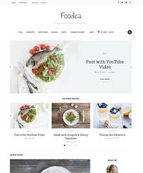 13 best food magazine themes with recipe index