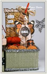 halloween sweet bags halloween altered art boxes polly u0027s paper studio