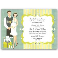 couples baby shower invitations baby shower invitations happy blue baby shower invitations